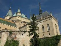 Bojnice romantic castle, Slovakia Stock Image