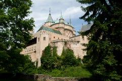 Bojnice Schloss Stockbilder