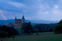 Bojnice slott Arkivfoton