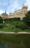 bojniceslott slovakia Arkivfoton