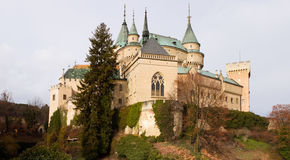 bojniceslott slovakia Royaltyfria Bilder