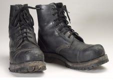Bojowi buty zdjęcia stock