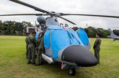 Bojowi helikoptery Obrazy Stock
