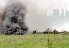 bojowi niemieccy żołnierze ww2 Zdjęcie Stock