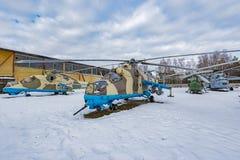 Bojowi przewiezeni helikoptery Obrazy Royalty Free