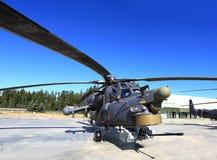 Bojowy helikopter Zdjęcia Royalty Free