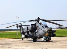 Bojowy helikopter Mi 28 Obraz Royalty Free