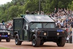 bojowy sił parady dodatek specjalny pojazd Obraz Stock