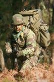 bojowy szkolenie wojskowe Fotografia Stock