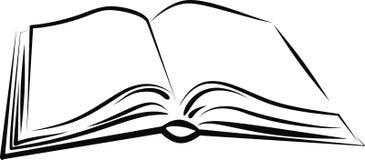 bok royaltyfri illustrationer