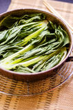 Bok choy dish Stock Photography