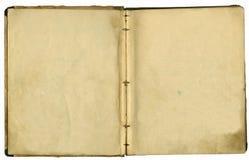bok framkallade gammala sidor Fotografering för Bildbyråer