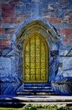 Bok Gesangturm goldene Tür Stockfoto