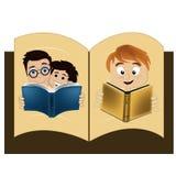 Bok inom en bok Arkivfoton