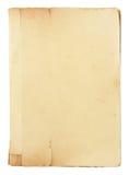 bok isolerade gammala sidor Royaltyfri Fotografi