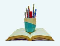 Bok och brevpapper Fotografering för Bildbyråer