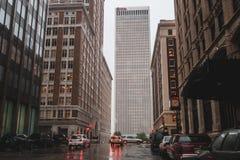 BOK-torn i Tulsa, Oklahoma arkivfoto