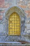 Bok Tower Gold Door Stock Image