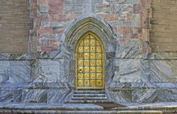 Bok Tower Gold Door Royalty Free Stock Images