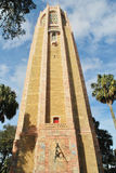 The Bok Tower, Lake Wales, Florida. The Bok Tower is also known as the Singing Tower'. The tower has one of the best carillons in the world Stock Images