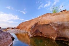 3000 bok 2558. Unseen Thailand grand canyon 3000 bok at ubonratchathani Stock Image