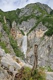 boka瀑布 库存照片