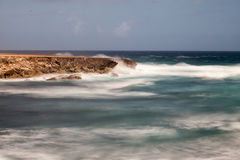Boka Ascension coastline. Boka Ascension on the North Coast of the Caribbean Island of Curacao Royalty Free Stock Photography