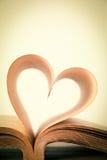 Boka av förälskelse Arkivbild