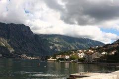 Boka Bay Montenegro Stock Image