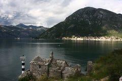 Boka Kotorska Bay, Montenegro Royalty Free Stock Photography