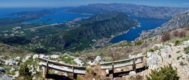Boka Bay. Photo was taken in Montenegro Royalty Free Stock Image
