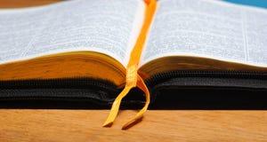 Boka bibeln royaltyfria foton