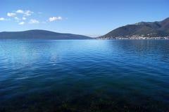 Boka-Bucht in Montenegro Stockbild