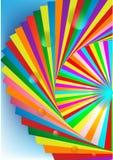 Boka färgrikt stock illustrationer