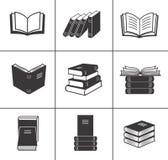 Boka fastställda symboler. vektor illustrationer