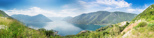Boka-Kotor Bay, Montenegro Royalty Free Stock Photo