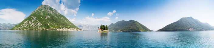 Boka-Kotor bay Stock Images