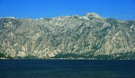 Boka Kotorska. The Bay of Kotor, Montenegro royalty free stock photos