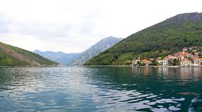 Boka Kotorska bay Royalty Free Stock Images