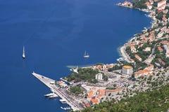 Boka Kotorska bay lanscape Royalty Free Stock Photos