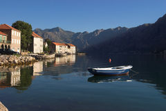 Boka Kotorska bay lanscape Royalty Free Stock Photography