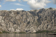 Boka Kotorska bay in Montenegro, Europe Royalty Free Stock Photo