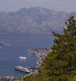 Boka Kotorska Bay Stock Image