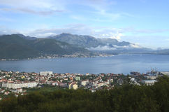 Boka Kotorska bay Royalty Free Stock Photos