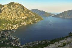 Boka Kotorska. Beautiful view of the Boka Kotorska royalty free stock photography