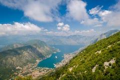 Boka Kotorska fjärd Royaltyfria Foton