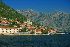 Boka Kotorska - Kamenari. Boka Kotorska - The Bay of Kotor, Kamenari - Montenegro royalty free stock images
