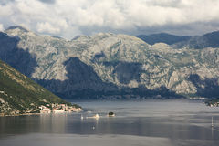 Boka Kotorska, Kotor Bay, Montenegro Royalty Free Stock Photo