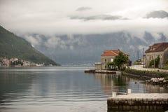 Boka Kotorska, Kotor Bay, Montenegro Royalty Free Stock Image