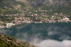 Boka Kotorska, Kotor Bay, Montenegro Stock Images